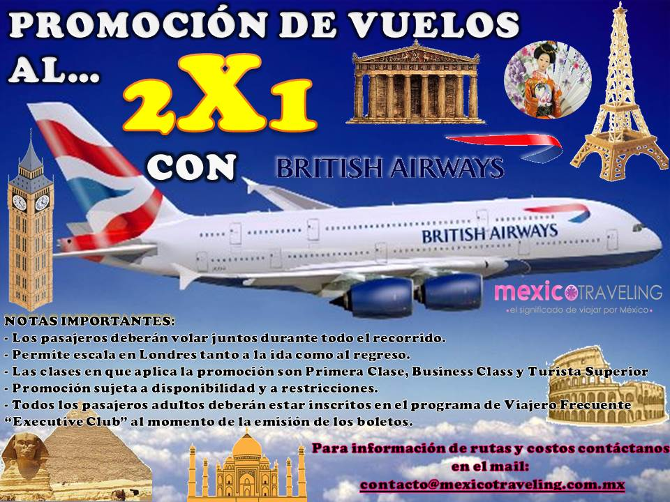 Vuelos British Airways